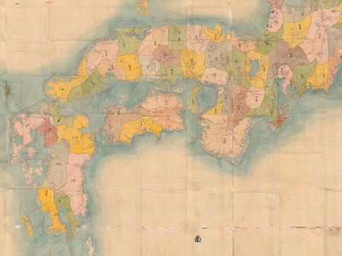京都大学附属図書館所蔵 古地図コレクション