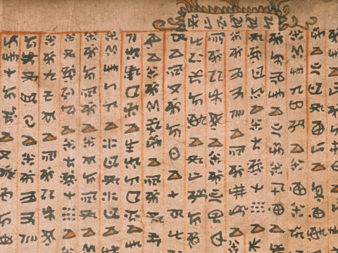 [Religious texts in classical Yi scripts]